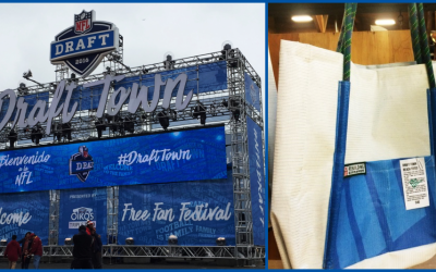 Banners to Beach Bags – Mod Material Reuse after Draft Town 2016